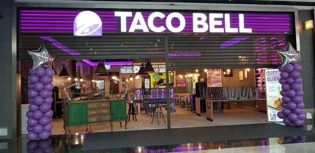 Inauguración Taco Bell-Marineda City